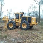 Tiger Cat 720E feller buncher3